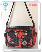 2013 women's messenger bag female canvas preppy style travel bag