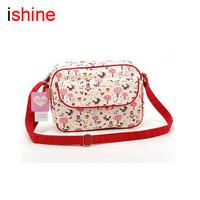 2013 ishine new brand women's fashion handbag messenger canvas vintage bag