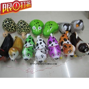 Hot selling 50 pcs/Lot,  Wholesale, Various Aluminum Foil Helium Walking Animal Pet Balloons, Baby's Toy & GiftFree Shipping,.