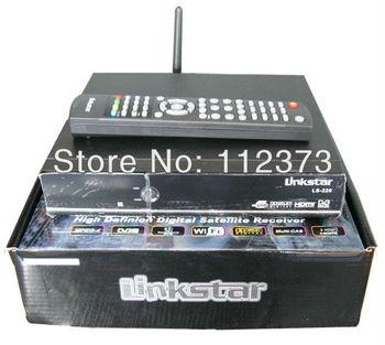 LINKSTAR FULL HD Satellite Receiver Set top box with WIFI IKS Twin Protocal UK PLUG