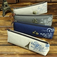 Min Order $20 (mixed order) Retail 3251 pencil case classic nostalgic vintage pencil case korea stationery (KG-10)