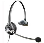 Call center telephone headset IP Phones Call Center Headset w/ RJ11 QD Cord, New