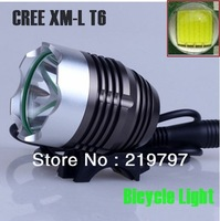 XM-L T6 headlamp and Bicycle light 2in1 1200LMs 3Mode Ultra 8.4v 4400mAh Battery Pack for hiking + Charger+ 1Set Free shipping