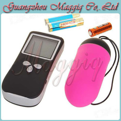 10 Speeds Vibration Wireless Jump Eggs, LCD Screen, Remote Control Vibrating Egg, Sex Vibrator, Women Sex Toys(China (Mainland))