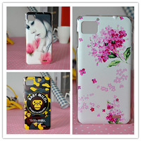 For lenovo   k860 phone case k860i scrub cartoon protective case shell colored drawing everta transparent
