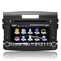 Car Stereo DVD for Honda CRV 2012 Headunit GPS built-in 3G USB host/Bluetooth/Ipod/PIP free 4GB TF card with IGO map