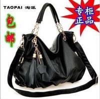 2014 Rushed Top Fasion Women Handbags Bolsas Femininas free Shipping Women's Handbag Shoulder Bag Messenger All-match Tassel