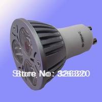 SD-GU10-002  GU10 LED spotlight , 3 * 1W ,hight bright, 1 year warranty
