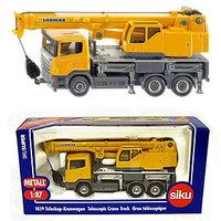 Original exquisite siku alloy car models retractable typecmms truck crane boxed