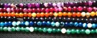 2014 New Natural agate 6mm round fashion jewelry stone beads 372pcs/lot  1string=62pcs.free shipping