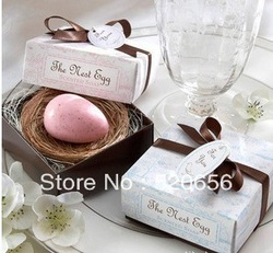Free shipping the nest egg scented soap saxon wedding soap favors wedding gifts wedding souvenirs baby shower favor gifts(China (Mainland))