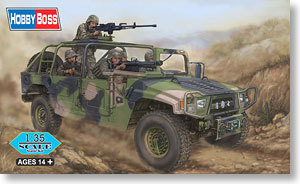 Hobby Boss 82469 1/35 Meng Shi 1.5 ton Military Light Utility Vehicle- Convertible Version for Special Forces