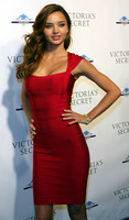Miranda Kerr Same Style Celebrity Party Dress, hl Spaghetti Strappy Sheath Sleeveless Knee Length Red Bandage Evening Dresses