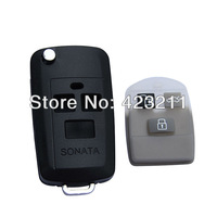 Flip Folding Remote Key Shell Case For Hyundai Sonata XG350 Elantra 3BT  FT0091