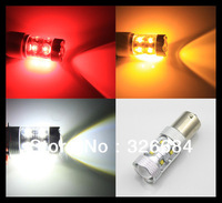 2x 50W White Yellow Amber Red High Power 1156 Ba15s Bau15s P21W/PY21W BAY15D P21/5W 1157  T20 S25 7440 LED Car Brake Stop Bulb