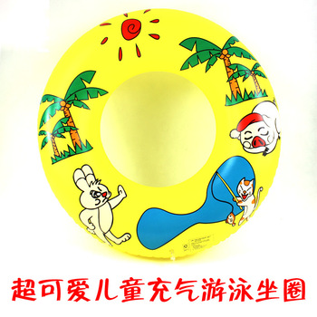 2012 male female child child inflatable life buoy child swim ring 4 - 16  free shipping