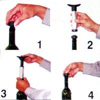 1 set Wine Bottle Vacuum Saver Sealer Stopper Preserver Pump Set