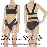 2013 Free Shipping Sexy Hot Summer Bandage H L Bikini Monokini Beachwear Swimwear Swimsuit Women Lady BodyCon DS825