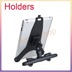 In Auto Car Seat Back Mount Kit Bracket Stand Holder for iPad 2 GPS Tablet PC+free shipping(China (Mainland))