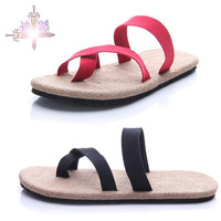 free shipping Male handmade twisted knitted slippers male male flip flops slippers male lovers sandals slippers