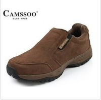 Camssoo leather low foot wrapping 2038 casual shoes