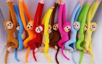 Long arm monkey plush toy little monkey doll toy