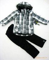 wholesaleChildren's clothing children cotton-padded clothes suit children ski suit foreign trade of the original single-child tr