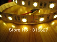 Free shipping 10M 12V Led strips lighting 5050 SMD 300LEDS/Roll 72w Non- waterproof 5M/Reel