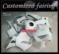 Customized INJECTION MOLD fairing -White  Fairings Kit FOR Honda / CBR600RR CBR600 F5 CBR 600RR 2003 2004 K3 K4 03-04 Free Winds