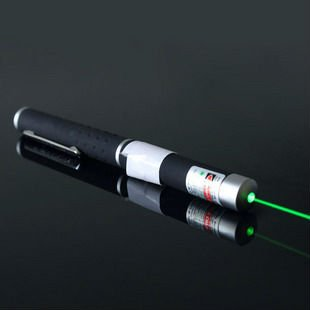 HK Post Free Shipping! 200mw green light laser pointer pens, green laser command pen with Gift Box