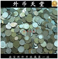 Mix used true old metal Foreign souvenir silver/golden coin collection lot penny free shipping wholesale bulk