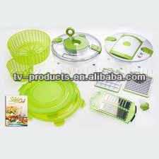 salad chef/vegetable slicer/fruit chop/MULTI FUNCTION SALAD SPINNER -let your life so easy