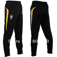 New Soccer Football Training Elastic Pants National Team Brazil Free Shipping