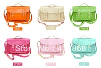Free Shipping Women's Handbag High Quality Shoulder Messenger Bag Fashion Candy Color Bag