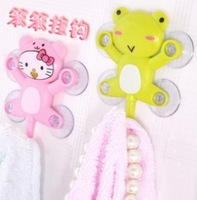 Free shipping Small cartoon series suction cup hook cartoon hook diy cartoon cupsful  20 pcs / lot