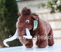 J1 Hot sell New Fashiong Ice Age Elephant Plush doll toy,  23CM, 1PC