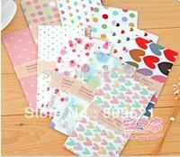 Freeshipping New cute fancy girl envelop Note Paper Pad/envelop Memo DIY Multifunction Korean stytle/Wholesale150pcs HYG74