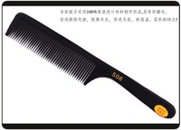Wholesale 12pcs/Per Lot Fashion Hair Comb Salon Comb Heat Resistant  & Anti-static Comb Hairdressing tools Free Shipping 506