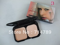 Free shipping NEW makeup new 3  colors lady gaga foundation   face powder (24pcs/lot)