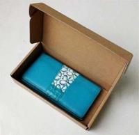 Free shipping Wholesale 30pcs/lot 21*11*4cm Wallet / Coin Purse Packaging box E-grade  Kraft Corrugated Board Paper Box