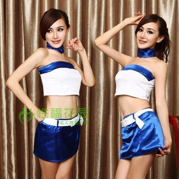 Sexy football rabbit female cheongsam costumes