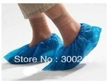 FREE SHIPPING Convenient Shoe covers ,One-time ,Polythene ,Household products ,plastic,100 pieces a lot,drop shipping D14191SL(China (Mainland))
