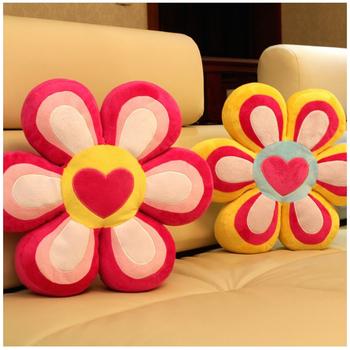 Ole flower pillow nap pillow plush toy nice bottom cushion