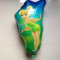 NEW ARRIVAL 50pcs/lot wholesale Free Shipping Fairy Helium Balloons Foil balloons School bus 70X40CM