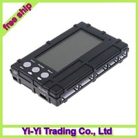 3in1 RC 2s-6s Lipo Li-Fe Battery Balancer LCD+Voltage Meter Tester+Discharger+ Register free shipping