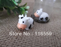 Free ship!!! 2013 NEW 100pcs/lot 13x19mm cute Cattle for glass cover DIY Glass bottle vial jewelry