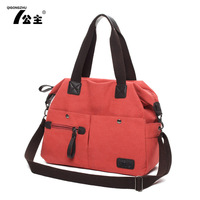Free Shipping Bags 2013 Women's Handbag Fashion One Shoulder Cross-Body Vintage Canvas Big Bag