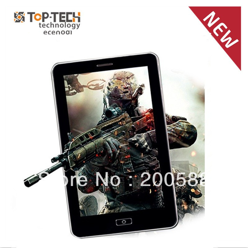 Hot selling 7 inch GPS tablet capacitive android tablet pc cortex A9 1.2GHz 4G ROM dual sim card slot wifi camera(China (Mainland))