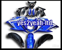 Customized fairing -Customize -Motorcycle Fairing FZ6R Fairing Kit Bodykit 09 10 Motor Bodywork Bodypart ABS Fairing Acc