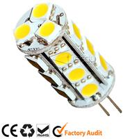 hot sale led spot lights 12V G4 18smd 5050